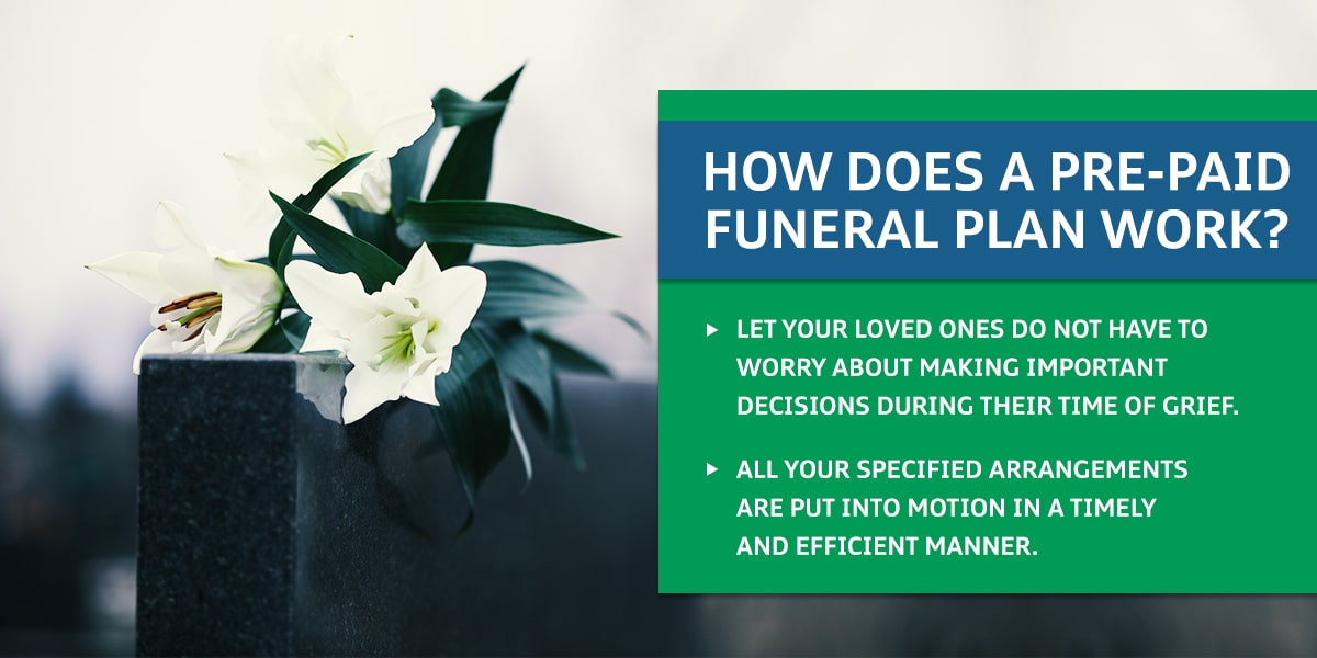How Does a Pre-Paid Funeral Plan Work